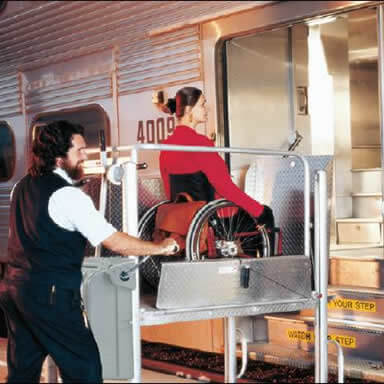 Wheelchair Lifts for Trains and Rail